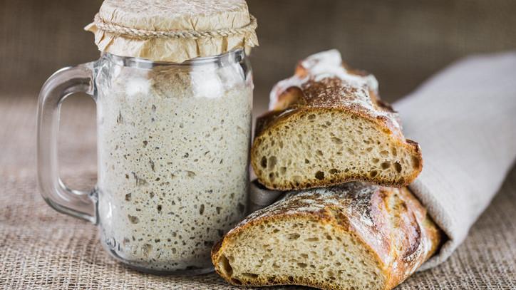 Kovászos készítése kenyérsütés