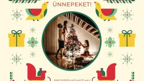 Klasszikus karácsonyi fogások, receptek