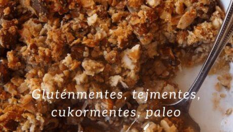 """Almás """"morzsasüti"""" – természetesen édes desszert"""