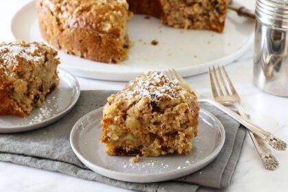Almás-zabpelyhes sütemény