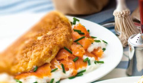 Az olasz konyha remekei: Füstölt lazacos omlett