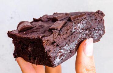 Fitnesz brownie – cukormentes – de isteni!