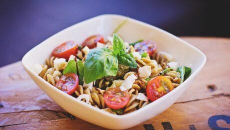 Ízletes olasz babos tésztasaláta