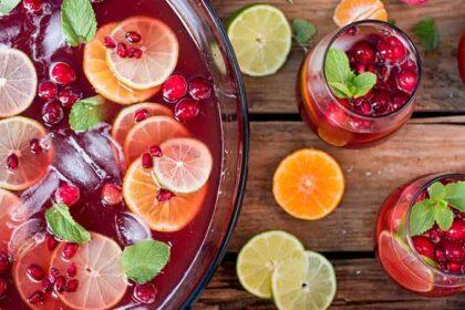 Puncs receptek: Illatos és fűszeres gyümölcsös ital – alkoholos és alkoholmentes változatban is