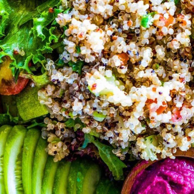 Quinoa – hosszabb élet és egészség! Új receptek quinoával