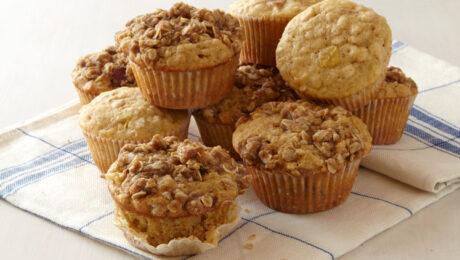Reggeli almás-zabpelyhes muffin: egészséges napindítás