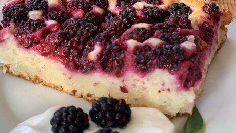 Friss gyümölcsös sütemény